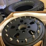 Военные диски Hutchinson с двойным бедлоком для Mercedes-Benz G
