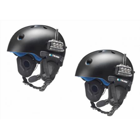 Комплект раций/связи, водонепроницаемый для шлемов с открытыми ушами.