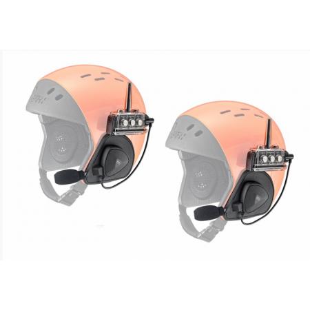 Комплект раций/связи, водонепроницаемый для шлемов с закрытыми ушами