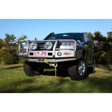 Силовой передний бампер TJM,  T13,  для Lexus LX 470, Toyota Land Cruiser 100  (070SB13N81A)
