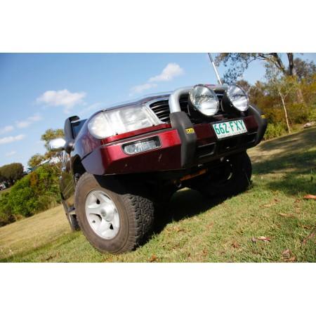 Передний силовой  бампер, TJM, для Toyota Land Cruiser 100, Series IFS 2002-2007 (070SB03C81C)