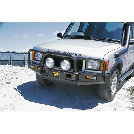 Силовой передний бампер TJM, Bull Bar T15 STL, для  Land Rover - Discovery 2, 1999-2004 (070SB15N39T)