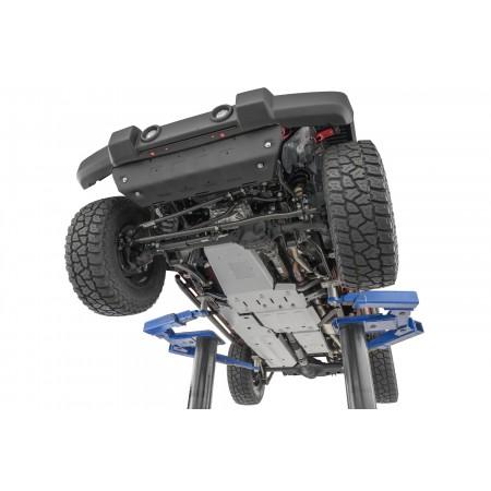 Комплект защиты двигателя, бака, коробки,  Нижняя защита для 07-18 Jeep Wrangler JK