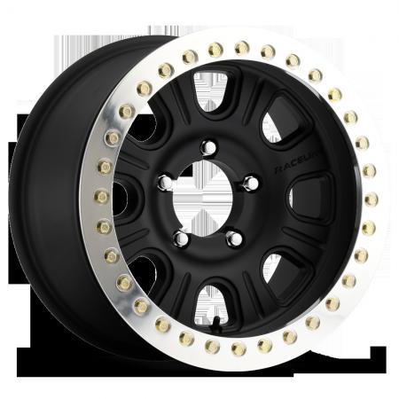 "MONSTER RT BLACK 17X8.5 6X5.5 (0mm/4.75""BS) AL"