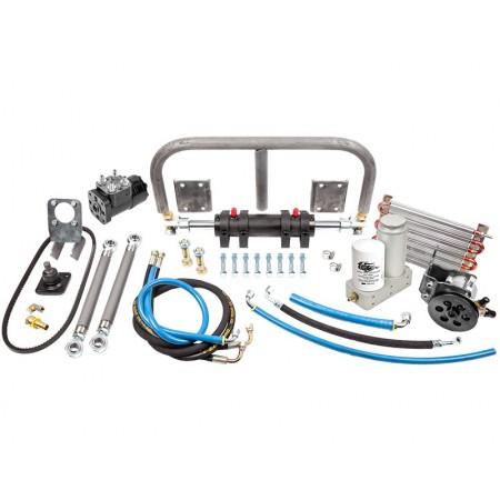 """Гидростатическое рулевое управление (набор из 10""""x2"""" цилиндра и 165 мл рулевой машинки) Trail-Gear 300679-KIT"""