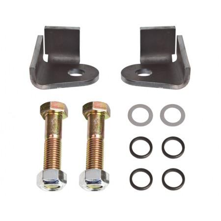 Комплект усиленного соединения гидростатического управления с кулаком, Trail-Gear, 301384-KIT, Double Shear Steering Bracket Kit