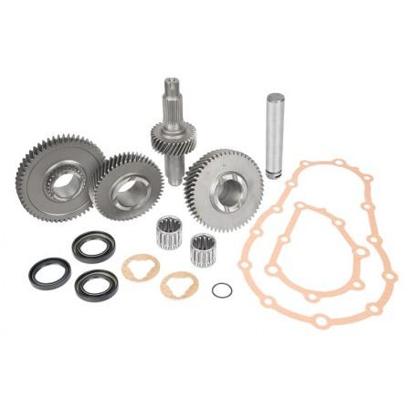 Набор Trail-Gear, Кит для понижения передаточного числа в раздатке  для Suzuki Jimny JA11 JA12 JA71,  Шестерни понижающие РК 4.16 83%, Trail gear 303924-3-KIT