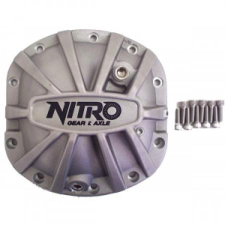 Крышка дифференциалов DANA 30 усиленная (алюминий) Nitro Gear and Axle NPCOVER-D30